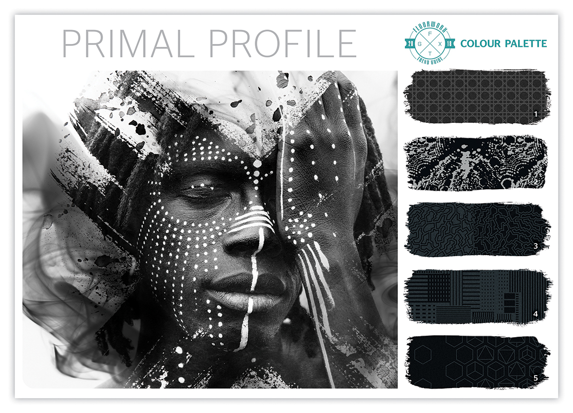 Primal profile – the graphic black and white trend
