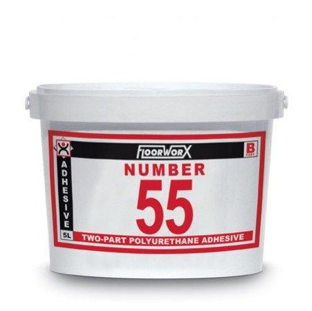 FloorworX No. 55 Two-Part Polyurethane Adhesive