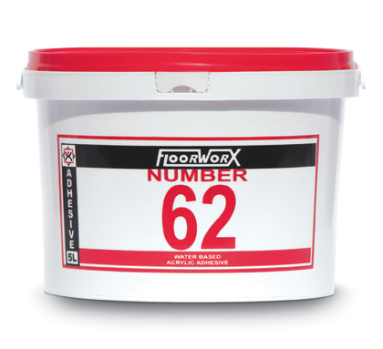 FloorworX No. 62 Acrylic Adhesive 5L