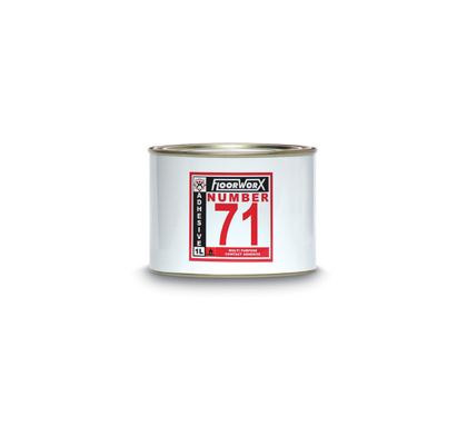 FloorworX No. 71 Multi-Purpose Contact Adhesive 1L