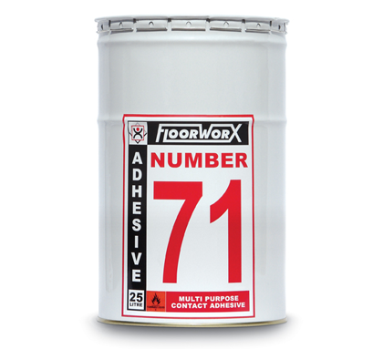 FloorworX No. 71 Multi-Purpose Contact Adhesive 25L