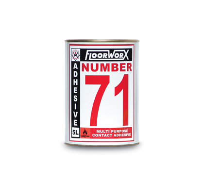 FloorworX No. 71 Multi-Purpose Contact Adhesive 5L