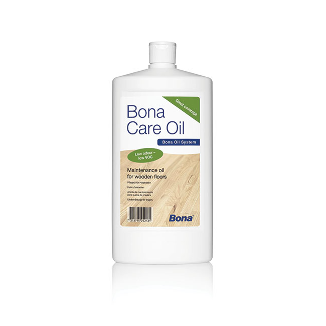 Indoors: Bona® Care Oil
