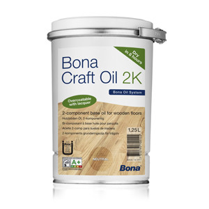 Indoors: Bona® Craft Oil 2k