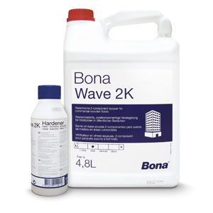 Bona® Wave 2k Silkmatt/matt (With 2% Hardener)