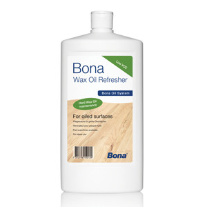 Indoors: Bona® Wax Oil Refresher
