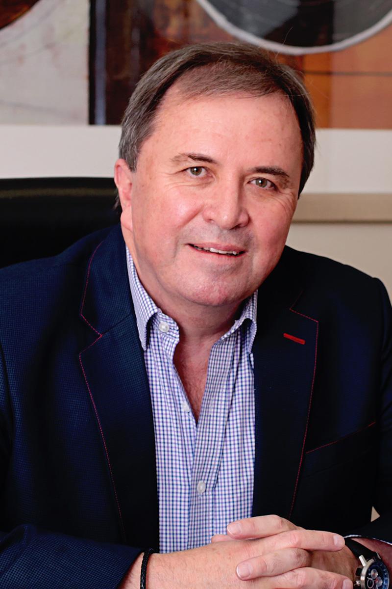 CEO Donald Platt