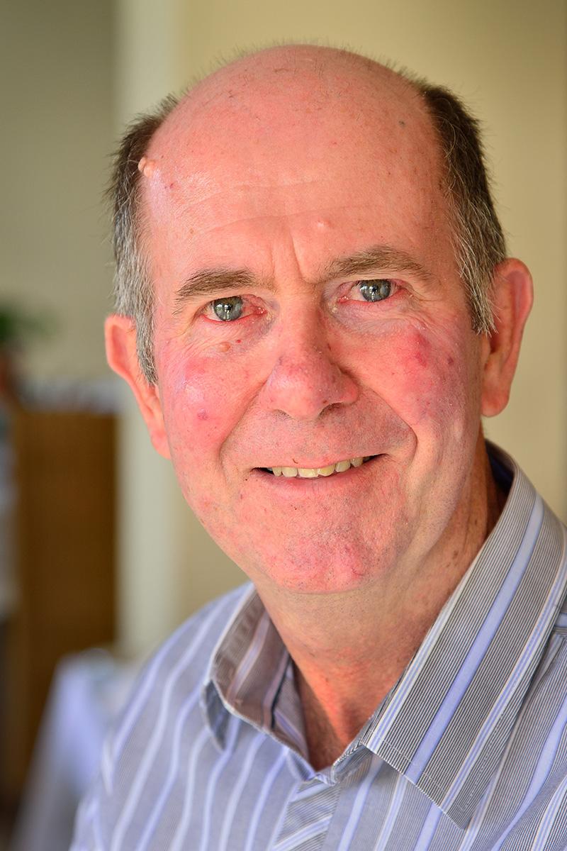 Logistics Manager Ken Boardman